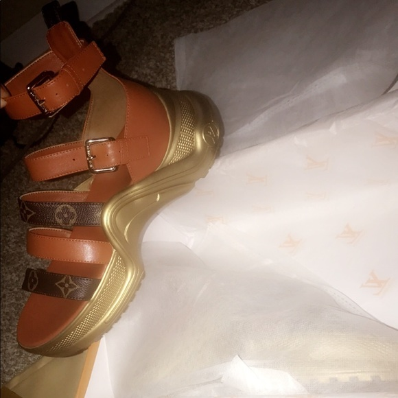 Louis Vuitton Archlight Flat Sandal